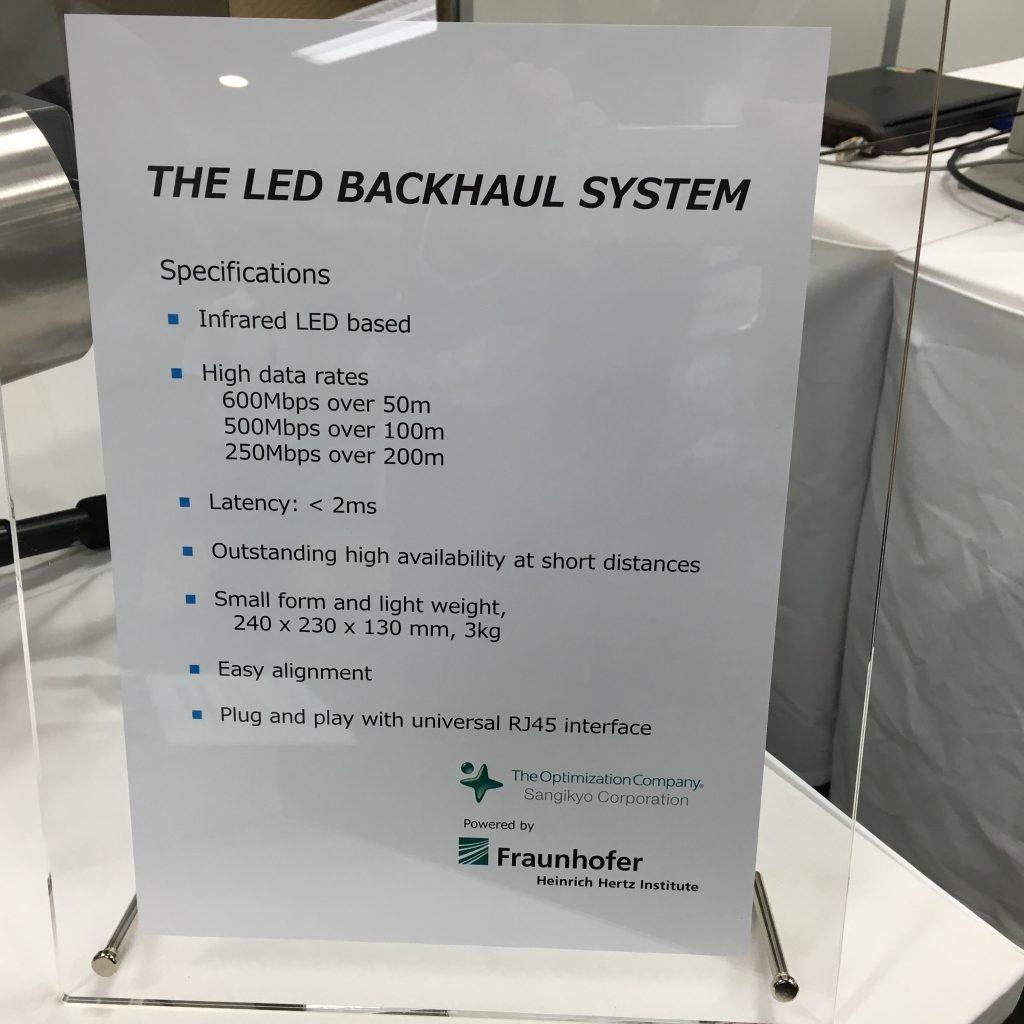 三技協 LED Backhaulシステム
