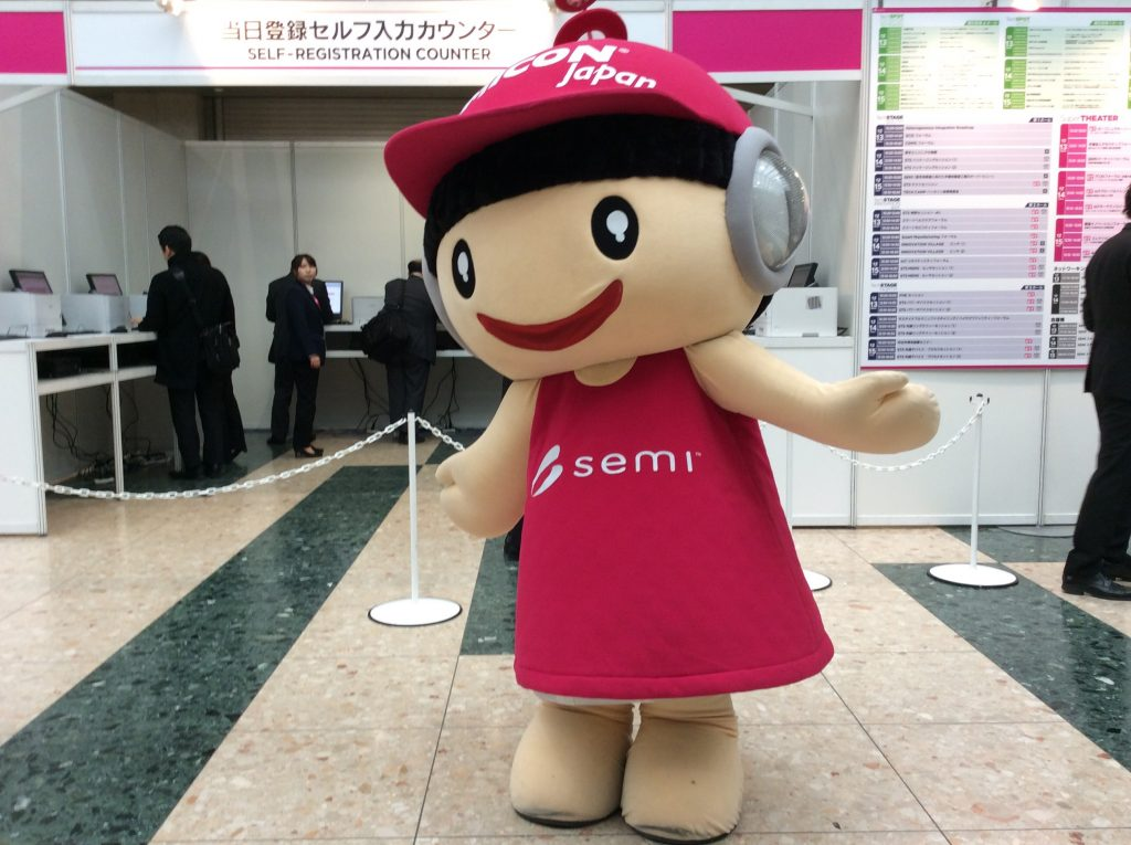 SEMICON Japan semiちゃん